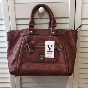 V Couture by Kooba Vegan Faux Leather handbag